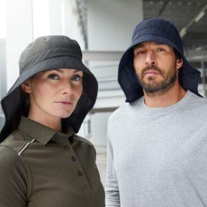 Caps mit Nackenschutz